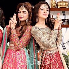 WIM Enjoyed and Liked on instagram from secretclosetpk: How stunning are these #SamiaAhmed lehengas? @samiaahmedofficial by secretclosetpk