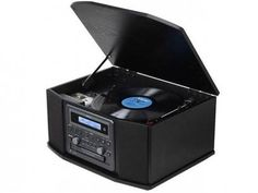 Vitrola TEAC GF-550 CD Player e Fita Cassete - Entrada Auxiliar e USB Rádio AM/FM com as melhores condições você encontra no Magazine Donkia. Confira!