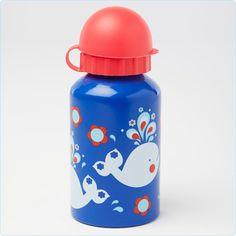 Trinkflasche für Kinder Motiv Wal - www.lolakids.de