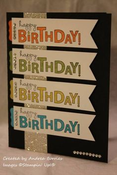 Many birthday wishes by andib_75 - Cards and Paper Crafts at Splitcoaststampers