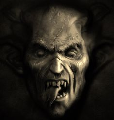"""Scary pictures of demons and creatures from hell. The Exorcist The scary Demon Face in the Exorcist is nicknamed """"Captain Howdy"""" by the little girl, but its Horror Wallpaper, Scary Wallpaper, Halloween Wallpaper, Wallpaper Wallpapers, Gothic Wallpaper, Computer Wallpaper, Iphone Wallpaper, Vampires, Illuminati"""