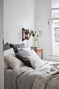 my scandinavian home: Beautiful Dutch bedroom make-over