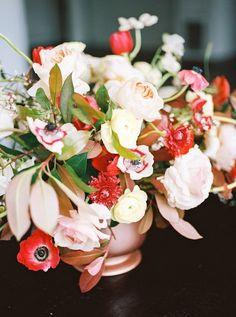 Industrial modern rose gold wedding inspiration