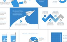 The set of pro slides for for PowerPoint offers a collection of slides with sleek and easily customizable data visualization tools for your exclusive Slides Powerpoint, Powerpoint For Mac, Business Presentation, Presentation Templates, Slide Design, Web Design, Data Visualization Tools, Logo Creation, Data Charts