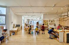 三民幼儿园,台湾 / Fieldevo design studio + LinBoYang Architects - 谷德设计网 Kindergarten, Indoor, San, Studio, Gallery, Architects, Design, Interior, Roof Rack
