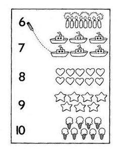 ผลการค้นหารูปภาพสำหรับ okul öncesi sayı eşleştirme kartları