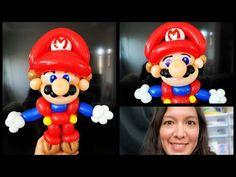 Mario Bross balloon tutorial. Super Mario balloon twisting - YouTube