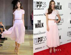 Charlotte Le Bon In Carolina Herrera –  'The Walk' New York Film Festival Opening Night Gala Presentation