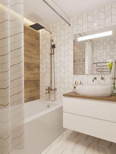 Modern Architecture House, Interior Architecture, Interior Design, Scandinavian Bathroom Design Ideas, Relaxing Bathroom, Home Living Room, Room Inspiration, 3ds Max, Bedroom Decor