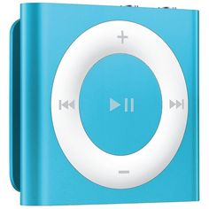 Apple iPod shuffle 2GB MP3 Player Blue (MD775LL/A) ($46) ❤ liked on Polyvore featuring electronics, ipod, music, filler and tech