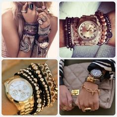 Style. Fashion look. Watches