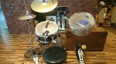 My cocktail drum set