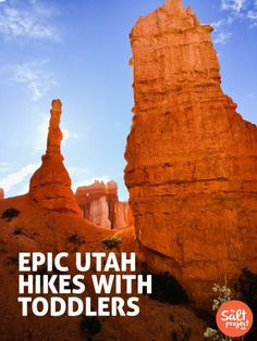 Epic UTAH Hikes with Toddlers   The Salt Project   Things to do in Utah with kids