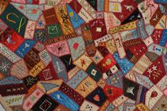I love crazy quilts! Jim Pike