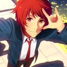 Ottaya (I think thats how you spell his name) from Uta No Prince Sama