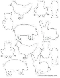 Siluetas animales