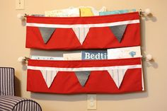 "Make It: A ""No-Sew"" Hanging Bookshelf - I Can Teach My Child!"
