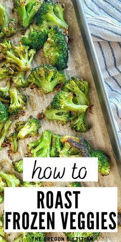 How To Oven Roast Frozen Vegetables