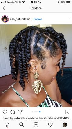 Should Afro Carribean Hair Be Natural Or Chemically Processed? Afro Kinky Hairstyles, Protective Hairstyles For Natural Hair, Natural Hair Braids, Girls Natural Hairstyles, Braids For Black Hair, 60s Hairstyles, Hairstyles Videos, Flat Twist Hairstyles, Dreadlock Hairstyles