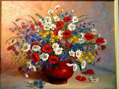 Champs, Images, Rose, Painting, Bouquets, Art, Bunch Of Flowers, Paint, Search