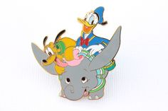 Pluto & Donald on Dumbo! – Everything Disney Pins