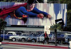 Superman Movie Billboard