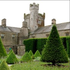 Levens Hall, Levens, Cumbria is a magnificent Elizabethan mansion built around a 13th Century pele tower, which was expanded and rebuilt towards the end of the 16th Century.  It is the family home of the Bagots, and contains a collection of Jacobean furniture and fine paintings.