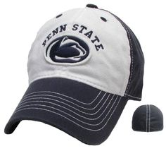 Penn State Arched Relaxed Twill Hat | Headwear > HATS > SIZED FLEX FIT