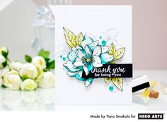 Thank you for being you card by Yana Smakula for Hero Arts