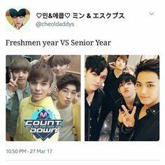 Freshmen vs Senior Year