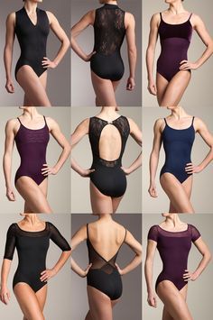 Ainsliewear has such pretty leotards!