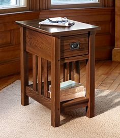 Mission Side Table: End Tables   Free Shipping at L.L.Bean