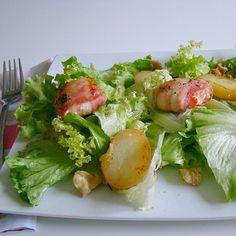 ♥ Salade de chèvre chaud sauce au miel ♥
