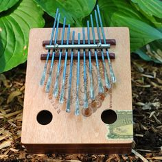 Wooden musical instruments - love this thumb piano - Cigar Box Kalimba   Acoustic Electric  11 by roussellfamilyarts, $60.00