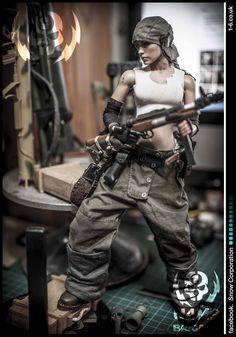 OSW sci-fi badass modelmaking