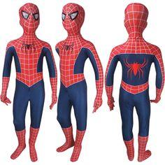 Kids Spider-man jumpsuit bodysuit red superhero cosplay costume cosplay halloween costume x'mas christmas birthday gift toys party make-up outfit Joker Costume, Hallowen Costume, Cosplay Costumes, Red Superhero, Superhero Cosplay, Figuras Wwe, Spider Man Halloween, Comic Con Outfits, Post Apocalyptic Costume