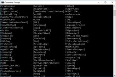 A complete list of the over 280 Command Prompt commands across Windows 8, 7, Vista, and XP, including full descriptions of each CMD command.
