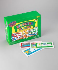 Look at this Beginning Blends Phonics Center Kit on #zulily today!