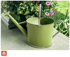 Keep your gardens looking bright and vibrant all summer long Gardening Tools, Watering Can, Vibrant, Gardens, Bright, Canning, Summer, Summer Time, Home Canning