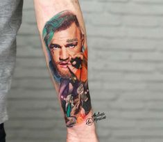 Connor McGregor tattoo by Andrea Morales