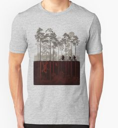 """stranger things"" T-Shirts & Hoodies by transverkaver   Redbubble"