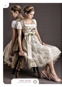 Julia Trentini Spring/Summer 2013 Dirndl Couture #Tracht