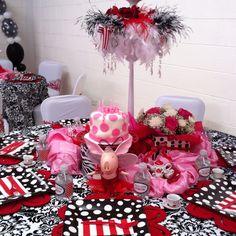 Olivia themed birthday party