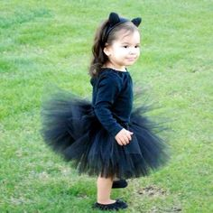 Black Cat Toddler Halloween Costume Size Newborn por Cruzcreation