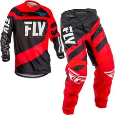 Fly Racing MX Motocross MTB BMX 2018 Kids F-16 Pants US 18 Youth Red//Black