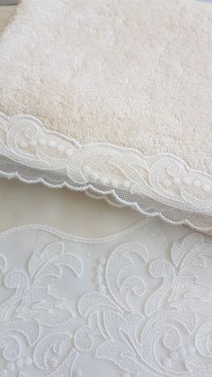 Ivory long fiber Egyptian cotton with ivory cotton Swiss lace Bath Linens, Egyptian Cotton, Bed Linen, Luxury Bedding, Online Boutiques, Fiber, Product Launch, Ivory, Lace