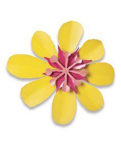 Loving this Mango Poppy Burst Flower Wall Art on #zulily! #zulilyfinds