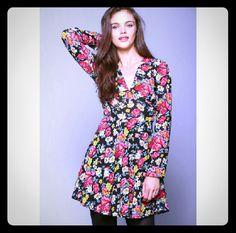 Uo Nom De Plume By Ya Ya Floral Dress Sz 6
