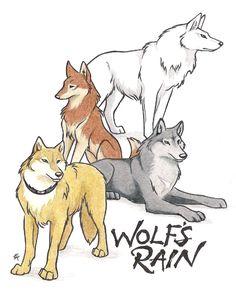 Wolf's Rain Group by *WildSpiritWolf on deviantART