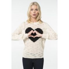 Fashion Tops - Clothing for Women Off Shoulder Fashion, Heart Sweater, Black Heart, Front Design, Hoodies, Sweatshirts, Latest Trends, Topshop, Graphic Sweatshirt